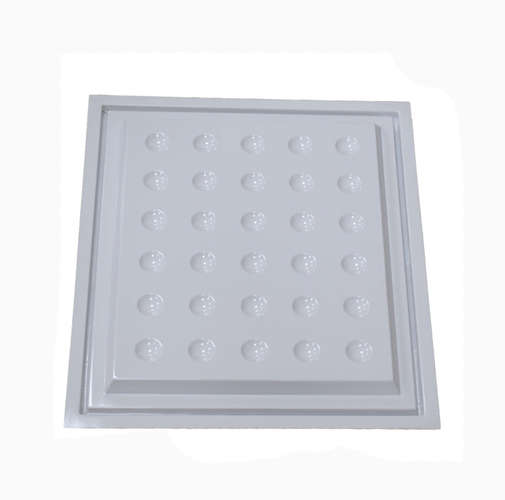 High quality white PVC PS ABS plastic sheet vacuum forming tray