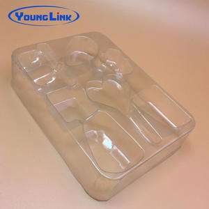 High Quality Customized transparent PVC Blister tray supplier