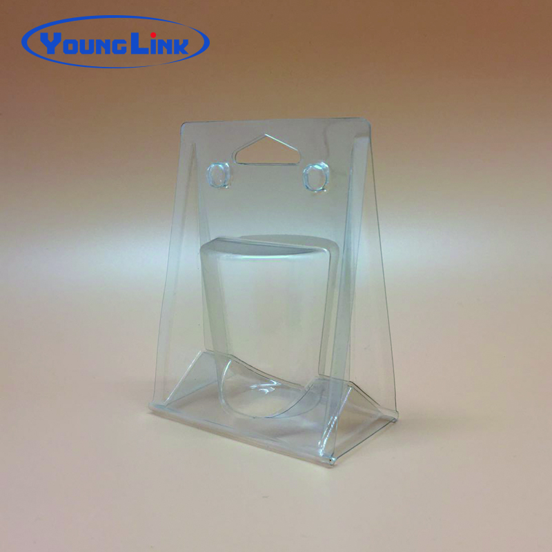 Cheap custom transparent pvc clamshell packaging facotry