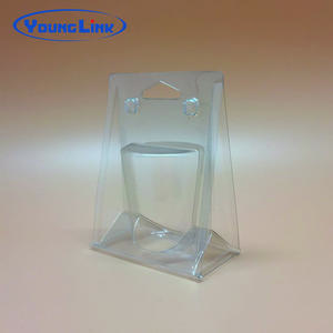 OEM Cheap custom transparent pvc clamshell packaging facotry