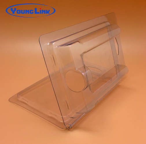 Transparent blister clamshell hardware packaging