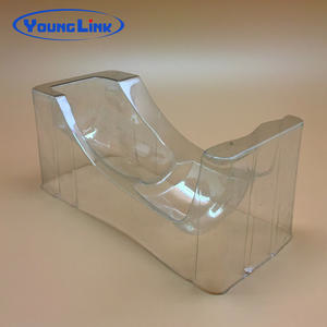China Custom blister PVC PET clear tray factory