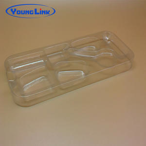 China Clear new design blister pvc tray manufacturers