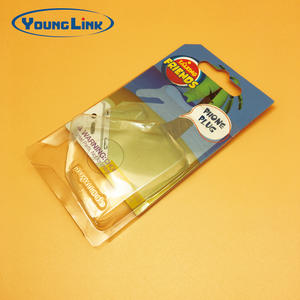 China PVC transparent slid card blister packaging factory