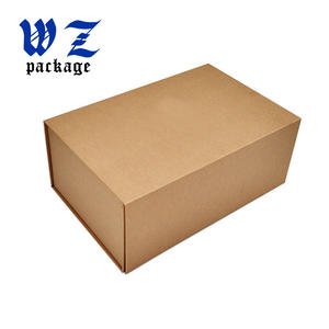 Cheap Price Multipurpose Foldable Kraft Cardboard Box