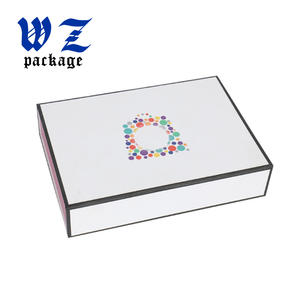 Low Price Magnetic Paper Folding Box Foldable Cardboard Box Flat Packaging Box