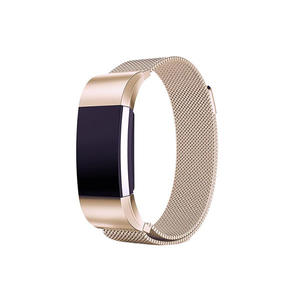 Stainless Steel Fitbit Watch Bands for Fitbit Charge 2 with Magnetic Clasp