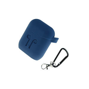 Silicone AirPods Case Cover Separately with Carabiner