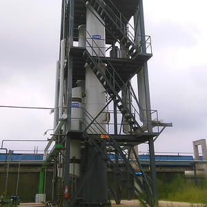 best price Waste tyre derive oil distillation tower factory