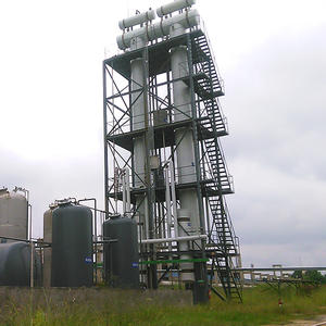 best price waste plastic derive oil distillation tower tank supplier