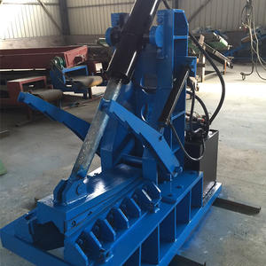 China waste tire scrapping machine supplier
