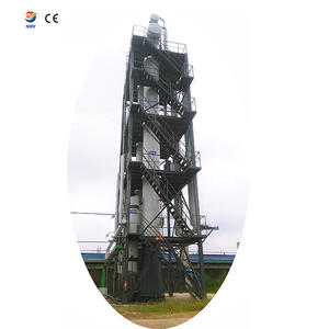 best price Waste oil sludge derive oil distillation tower tank supplier