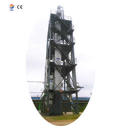 Waste oil sludge derive oil distillation tower tank