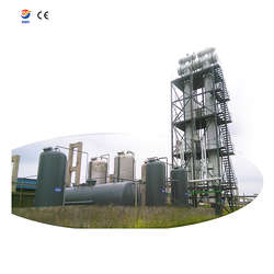 Waste PPMA derive oil distillation tower