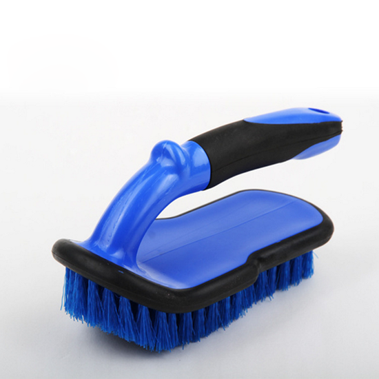 plastic handle car wheel tire brush for car tyre wash cleaning brush