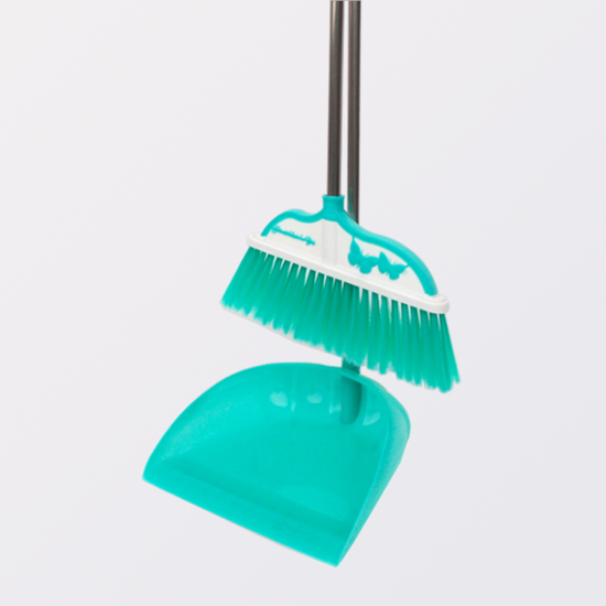 Multifunction Colorful Clean Sweeper Broom and Dustpan set