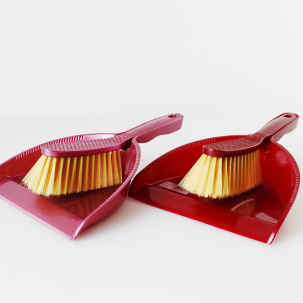 plastic mini broom and dustpan set for household details cleaning