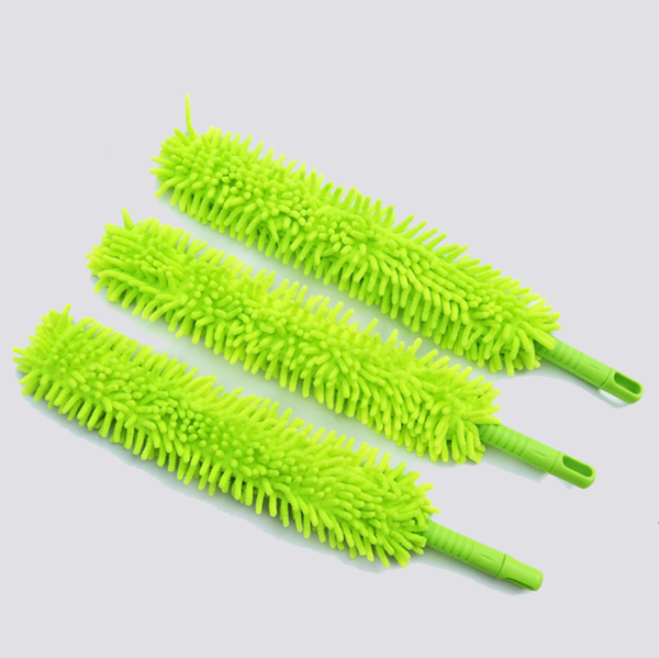 foldable flexible chenille duster for auto use and home use dust cleaning tools