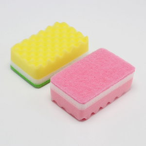 hot sales dish washing scouring pad sponge manufacturer