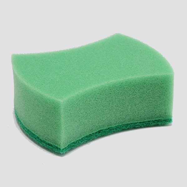 cheap dish washing sponge with scouring pad sponge magic cleaning sponge