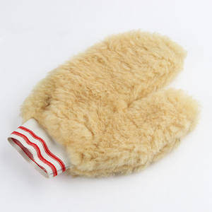 hot sales woolen wash mitt, car cleaning mitt, woolen glove manufacturer