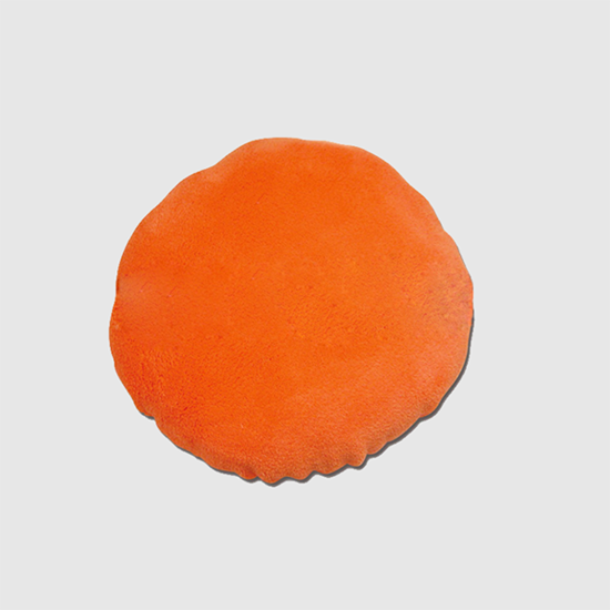 Microfiber multipurpose round polishing use and car cleaning microfiber wash pad