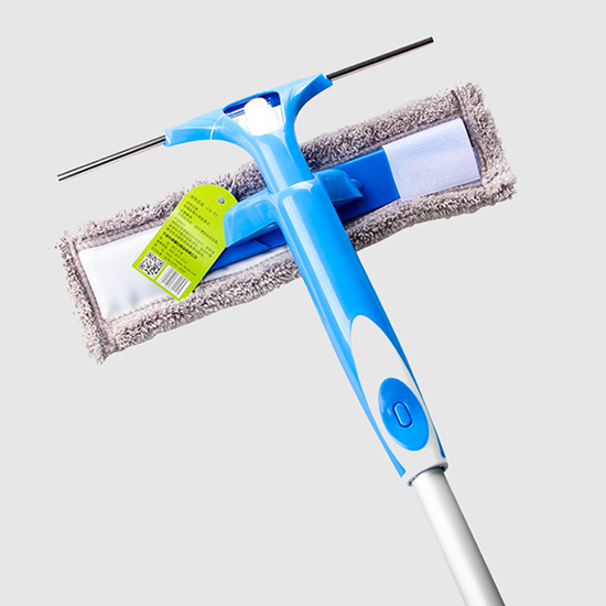window squeegee with chenille mop