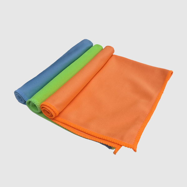 colorful microfiber glass cleaning cloth car window glass microfiber cloth