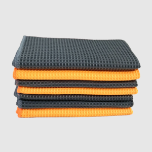 advanced waffle microfiber cloth, car, glass cleaning cloth exporter