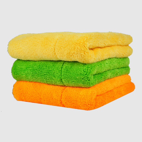 Double face coral velvet cleaning cloth for auto washing towel