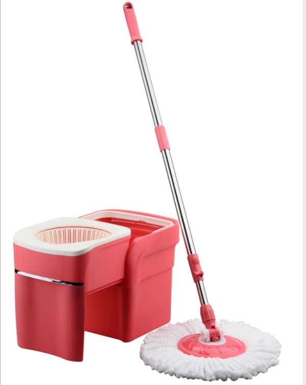 360 rotated handle drawer type magic spin mop with bucket set cleaning mop