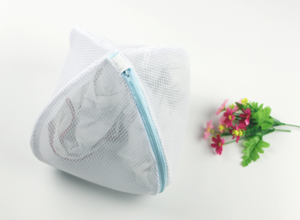 mesh laundry bag with zipper lock for underwear washing protect