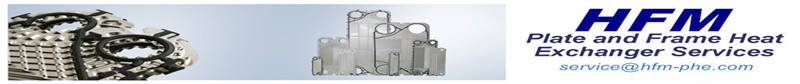 The Temporary Processing Method of Plate Heat Exchanger Gaskets Aging