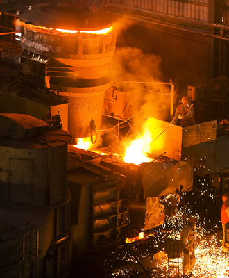Steel manufacture