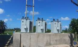32-step voltage regulator installation in Tanzania