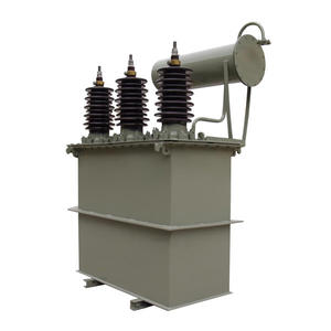 China Three phase oil immersed distribution transformer with conservators  factory