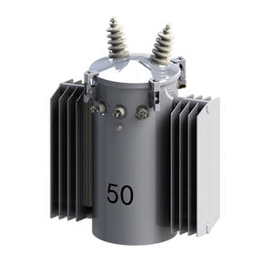 China Single phase pole mounted distribution transformer factory