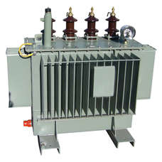 The oil immersed earthing transformer