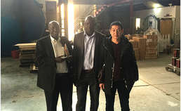 Uganda customers visit transformer factory