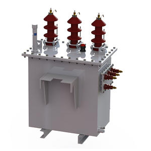 The pole-mounted transformer-H61