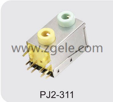 High quality 2.5/3.5 phone jack Factory,PJ2-311