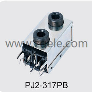 Low price 3.5 mm audio jack connection supplier,PJ2-317PB