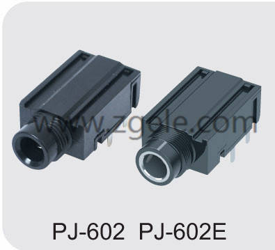 custom-made audio jack sizes supplier,PJ-602 PJ-602E