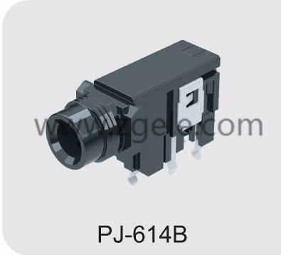 Low price headphone jack size factory,PJ-614B
