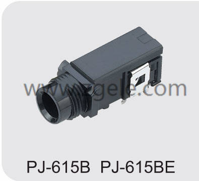 Low price audio input jack manufactures,PJ-615B PJ-615BE