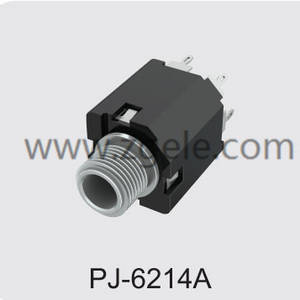 High quality types of headphone jacks supplier,PJ-6214A