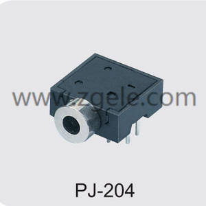 Low price 2.5 mm headphone jack supplier,PJ-204