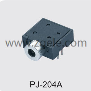 cheap earphone jack plug manufactures,PJ-204A