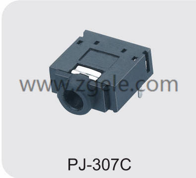 Low price headphone jack size chart supplier,PJ-307C