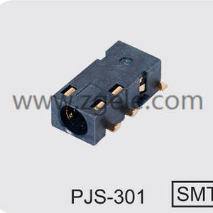 Customized 3.5 mm audio jack connection manufactures,PJS-301